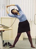 Exercise-office-lady